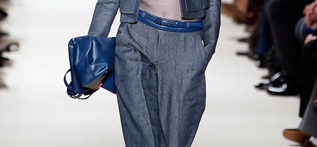 Szerokie spodnie na wiosnę 2012