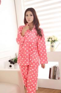 Ładna i ciepła piżama