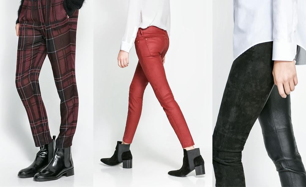 Damskie spodnie na jesień
