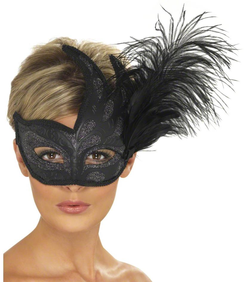 Maski na bal karnawałowy